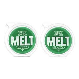 2-Pack Bath & Body Works Vanilla Bean Noel Fragrance Wax Melt 0.97 oz. Original