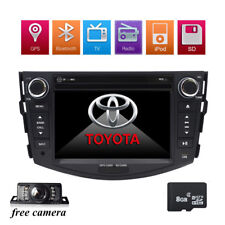 FOR TOYOTA RAV4 2011 Car DVD Player GPS Map Card In-dash Stereo Radio System+Cam