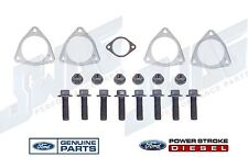 08-10 Ford 6.4L Powerstroke Diesel Left & Right Turbo Exhaust Pipe Gaskets Bolts