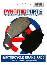 Rear brake pads for Kawasaki ER6 N ER-6N 2006-10