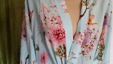 Regular Size Kimono Floral Sleepwear for Women