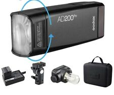 NEW Godox AD200Pro TTL 2.4G Outdoor Pocket Flash