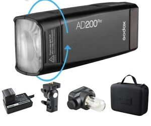 NEW Godox AD200Pro TTL 2.4G Outdoor Pocket Flash