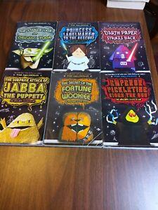 Origami Yoda Book Series Lot Of 6 Children Star Wars Set