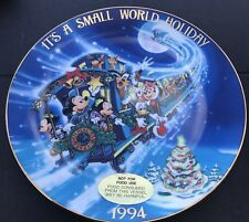 Disney's 1994  Its a Small World holiday Christmas Holiday Collector plate