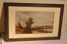 Two 19th Century Watercolours Nicely Framed