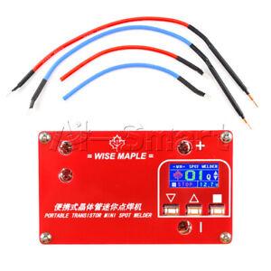 DC 12V Portable Spot Welder Transistor MINI  Liquid Crystal LCD Display WM-2