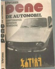 Pene de automobil, communist era, illustrated romanian car service guide, 1979