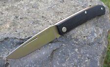 Messer Manly Comrade Groove D2 oder CPM 154 HRC 59 bis 60° Orange Grün Schwarz