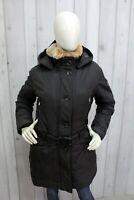 REFRIGIWEAR Donna Taglia XL Giubbotto Pelliccia Jacket Invernale Giubbino Parka
