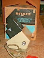 Vintage Argus electromatic slide viewer
