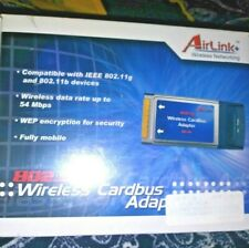 New listing Airlink+Wireless Networking Wireless Cardbus Adapter Sealed