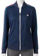 NEW Women's FILA SPORT Striped Long Sleeve Track Jacket Size XS $55 Retail