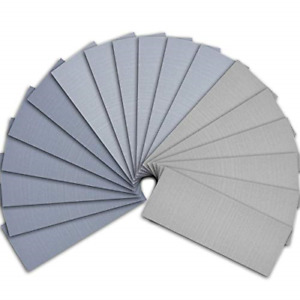AUSTOR 18 Pcs Wet and Dry Sandpaper 3000 5000 7000 High Grit Assorted, 9 x 3.6