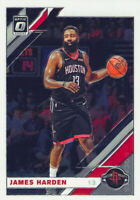 James Harden 2019-20 Panini Donruss Optic Chrome Base Card #68 Houston Rockets