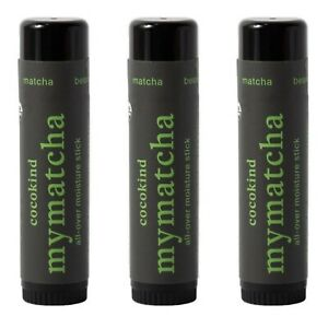 Lot of (3) Cocokind Collective Mymatcha All-Over Moisture Stick 0.5 oz