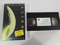 ALIEN TERROR HORROR RIDLEY SCOTT VHS + EXTRAS INEDITOS COLECCIONISTA CASTELLANO