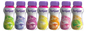 12x Forti juce High Energy Juice Supplement 200ml (12 bottles) - CHOOSE FLAVOURS