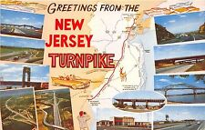 BC60148 Maps Cartes geographiques New Jersey Turnpike
