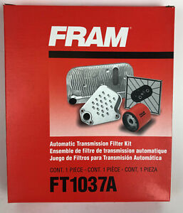 Auto Transmission Oil Pan Filter & Gasket Fram FT1037A NEW *R2S3*