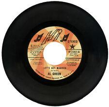 "AL GREEN  ""LET'S GET MARRIED""   DEMO   CLASSIC 70's SOUL  LISTEN!"