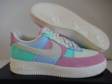 "NIKE AIR FORCE 1 07 QS ""EASTER"" ICE BLUE-HYPER TURQUOISE SZ 10.5 [AH8462-400]"