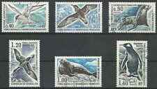 Timbres Faune marine Phoques Oiseaux TAAF 55/60 o lot 21451