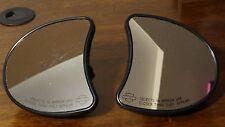 Black Inner Fairing Mount Side Rear Mirrors for Harley Davidson