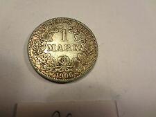 Reichsmark, 1 Mark, Reichsmünze, 1906 Buchstabe A silber  unbehandelt, top (26)