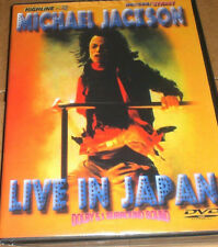 Michael Jackson - Live In Japan (DVD, 2009) FREE SHIPPING IN USA, BRAND NEW DVD