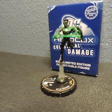 Heroclix Collateral Damage Limited Edition Kyle Rayne (Green Lantern) Gold  NIB