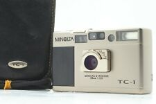 【MINT】MINOLTA TC-1 Point & Shoot Compact Film Camera w/ Case from JAPAN #369