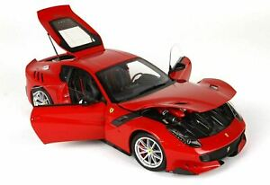 BBR 1/18 Ferrari F12 TDF Red Rosso Corsa DIECAST NEW with opening parts