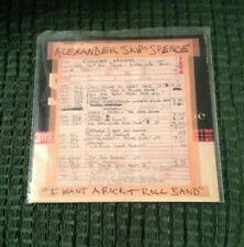 "ALEXANDER ""SKIP"" SPENCE I Want A Rock + Roll Band 7"" Vinyl Single Stereo RSD2019"