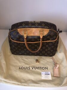 Authentic LOUIS VUITTON Deauville Handbag Monogram Canvas