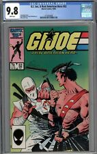 G.I. Joe, A Real American Hero #52 CGC 9.8 NM/MT WHITE PAGES