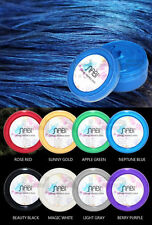 Nabi Temporary Hair Color Gel Wax Mud Washable 75g Dry Non-stick Neptune Blue