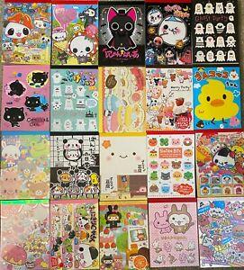 MEMO SHEETS - Lot of 50 - OJIPAN Unko GLOOMY BEAR Cube Friends +++ KAWAII Japan