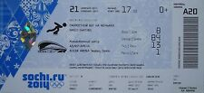 mint TICKET 21.2.2014 Olympic Sotschi Sochi Eisschnelllauf Speed Skating A20