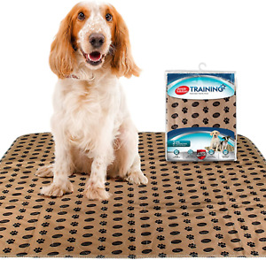 Simple Solution Large Washable Puppy Pad   Reusable Dog Pee Pad   Absorbent and