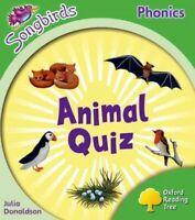Oxford Reading Tree: Level 2: More Songbirds Phonics : Animal Quiz, Paperback...