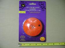 Halloween Pumpkin LED Strobe Light (NEW) Safer than a Candle Lighting Decoration