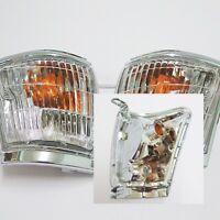 FRONT CORNER LIGHT INDICATOR PAIR FOR TOYOTA HILUX TIGER 1998-2001 99 PICKUP MK4