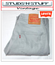 "VINTAGE LEVIS 505'S REGULAR FIT JEANS  W32"" L31"" APROX SIZE UK  12  (T425)"