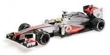 Voitures Formule 1 miniatures argentés MINICHAMPS
