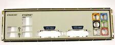 HP H-JOSHUA-H61-uATX:1.00 Motherboard Rear IO I/O Shield Back Plate 676220-001