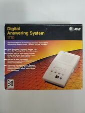 NEW AT&T Digital Answering Machine Model 1710 Tapeless Telephone Message
