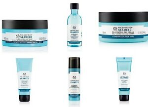 Body Shop SEAWEED Care ~ Restore Balance ~ Control Excess Oil ~ Shine-Free Skin