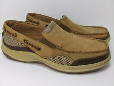 Dexter Shoes Mens Size 9 Man made & Leather Upper Tan Light Brown