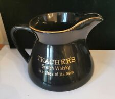 Teacher's Scotch Whisky Water Jug by Wade Pottery Vintage Collectors Item bs4